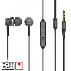Наушники Baseus Lark Series Wired Earphones Sky черные
